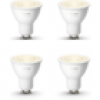 Philips Hue White GU10 LED Lampe 2x 5,2 W Bluetooth 4er Pack