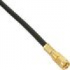 InLine WLAN R-SMA Stecker Crimpversion, Gold Kontakte, für RG58 Kabel, bulk