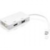 Adapter 3 in 1 Mini DisplayPort (Thunderbolt) to HDMI / DVI / VGA